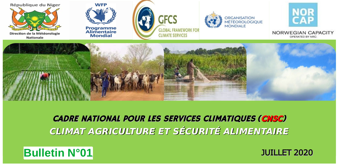 Bulletin CNSC, Niger Climat-Agriculture